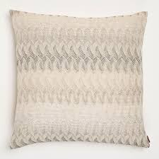 missoni home silver remich pillow