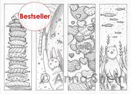 To display the bookmarks panel when a file is opened, follow these steps: Coloring Bookmarks I Love Cats Printable Cat Bookmark Etsy