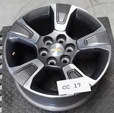 2016 Chevy Colorado Bolt Pattern