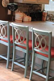 cream colored bar stools.  colored chalk painted barstools and recovering cushions throughout cream colored bar stools a