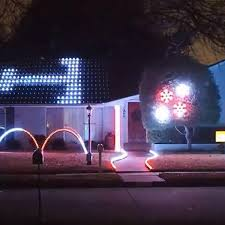 Aggie War Hymn Christmas Lights