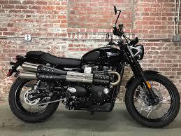 new 2017 triumph street scrambler motorcycles in greensboro nc