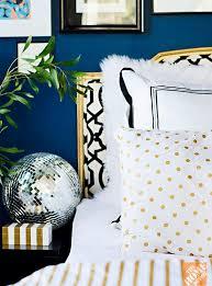 moody blue indigo walls bedroom decor