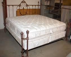 king size mattress. Image 1 : King Size Bed W/ Mattress \u0026 Boxsprings