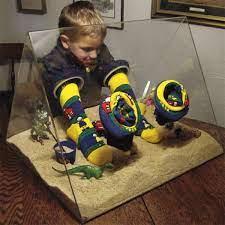 No Mess Indoor Acrylic Sandbox - portable - sand toys - no mess