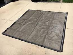 image is loading garage door screen 8x8 039 velcro w zipper
