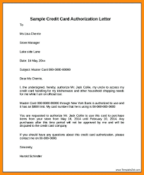 bank account access authorization letter awesome credit card authorization letter contemporary best resume 3rd party credit