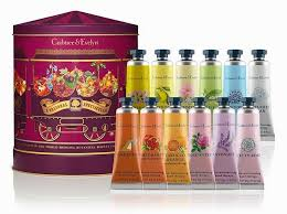 crabtree evelyn festive gift set hand therapy