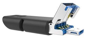 <b>USB</b>-<b>накопитель Silicon Power Mobile</b> C50 оборудован тремя ...