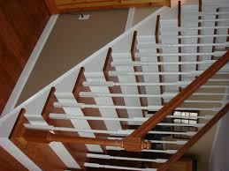 Redo Stairs Cheap From Carpet To Wooden Stair Treads Guest Remodel Redoing Stairs