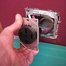 wiring size for stove also electric range outlet receptacle further stove wiring installing a range outlet recessed style 50 amp wiring size for stove also electric range outlet receptacle further