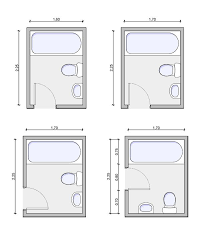 Tiny Bathroom Layout