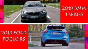 2018 bmw 1 series hatchback. brilliant 2018 2018 bmw 1 series vs ford focus rs  who the best hatchback cars intended bmw series