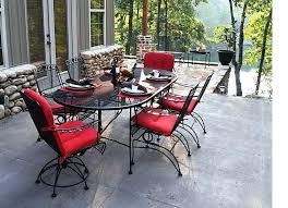 garden furniture wrought iron. Iron Patio Table Set Rod Outdoor Furniture Off Dogwood Dining Wrought Garden C
