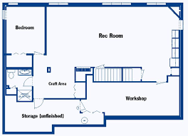 Finished Basement Design Plans