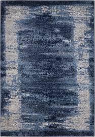 kathy ireland for nourison ki24 illusion ki242 blue area rug carpetmart