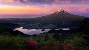 Nature Mountain Japan Mount Fuji Landscape Wallpapers Hd