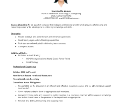 Objective For Resume For Bank Job Career Objective For Resume Bank Job Fresh Graduate Medical Office 42