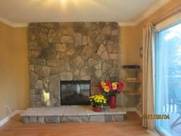 stone veneer this faux stunning refacing brick fireplace in feafcbbefcafcfab