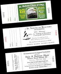raffle tickets printing custom printed raffle tickets murr printing beaufort sc
