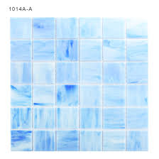 fused square colorful stained glass mosaic tiles sheet for backsplash