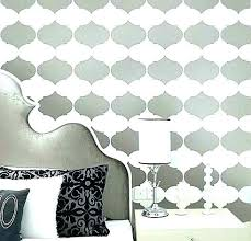 Wall Stencil Patterns Delectable Wall Stencil Pattern Design Painting Patterns Designs Ideas For Sale