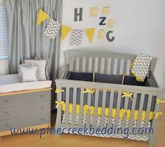 little auggie yellow crib bedding