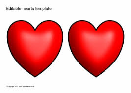 Microsoft Word Hearts Microsoft Word Heart Template