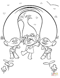 Small Picture DreamWorks Trolls coloring pages Free Coloring Pages