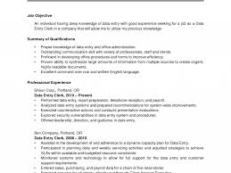 Smartness Data Entry Jobs No Experience Resume Sample For Operator