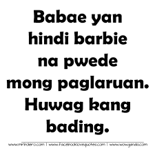Tagalog Quotes Enchanting Best Tagalog Quotes Mga Patama Love Quotes Patama Quotes