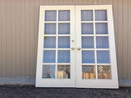 Vintage Exterior Set Of French Doors 79 X 72 The Antique