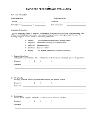 review examples for employees employee performance evaluation form 10 secrets to an effective