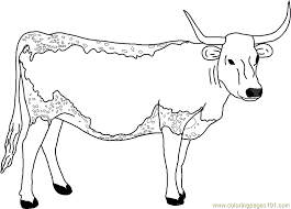 Small Picture Coloring Pages Animals Cow Coloring Pages