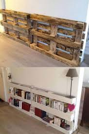diy pallet bookshelves these are the best pallet wood ideas