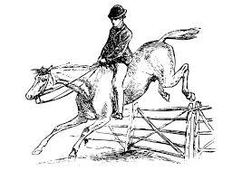 Kleurplaat Paard Met Ruiter Afb 27894 Images
