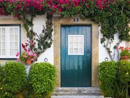 you paint your front door