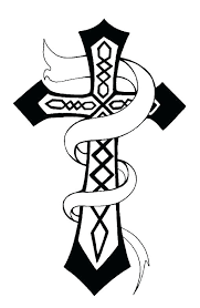 Crosses Coloring Pages Avusturyavizesiinfo