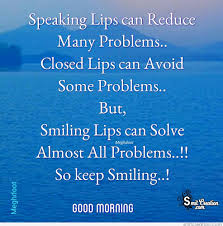 Meghdoot Good Morning Quote Best of Good Morning Keep Smiling SmitCreation