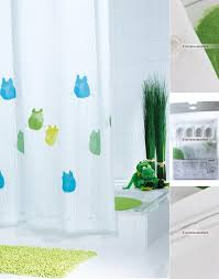 cool shower curtains for kids. Fun White Polyester Waterproof Frog Shower Curtains Cool For Kids