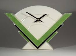 echo of deco art deco ceramic marconi 2 mantel clock ebay on art deco wall clock ebay with echo of deco art deco ceramic marconi 2 mantel clock ebay