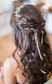 Coiffure Cheveux Boucles Mi Long Pour Mariage Coiffures à