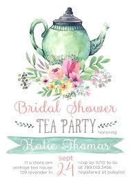 Tea Invitations Printable Tea Party Invitations Mad Hatter Tea Party Invitations Printable