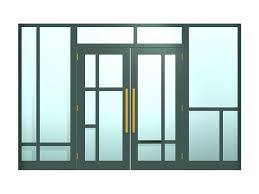 commercial entry doors entry door with transom and sidelights model commercial double doors glass