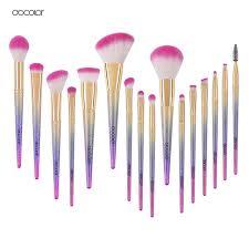 docolor makeup brushes 10pcs 16pcs make up fantasy set foundation powder eyeshadow kits contour brush