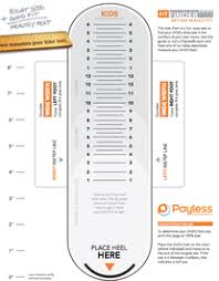 Gymboree Shoe Size Chart Inches The Importance Of Measuring Childrens Feet To Fit Shoes