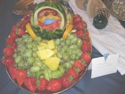 Decorative Fruit Trays Baby Shower Fruit Tray Ideas House Generation 77