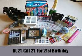 21 birthday gift ideas