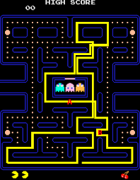 Pac Man Pattern Mesmerizing PacMan Patterns BagOfNothing