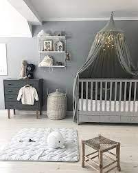 Babyzimmer für mädchen einrichten kann einem nur spaß bereiten. Stylisches Babyzimmer Grau Weiss Babybett Baldachin Babyzimmer Deko Kinder Zimmer Baby Zimmer Grau